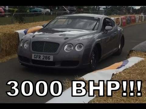 3000 BHP bentley continental gt