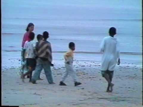 Fiji Kayak Kadavu kayak camping tour 1999.  Melissa McCoy Part 2 Natokalau Village
