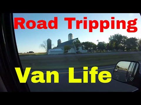 Van Dwelling Road Trip From Minneapolis MN To Fargo ND