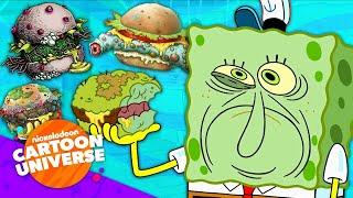 50 DIFFERENT Types of Krabby Patties! 🍔   Nickelodeon Cartoon Universe