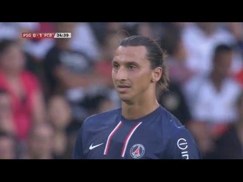 Zlatan Ibrahimovic vs Barcelona Home 12-13 HD 720p