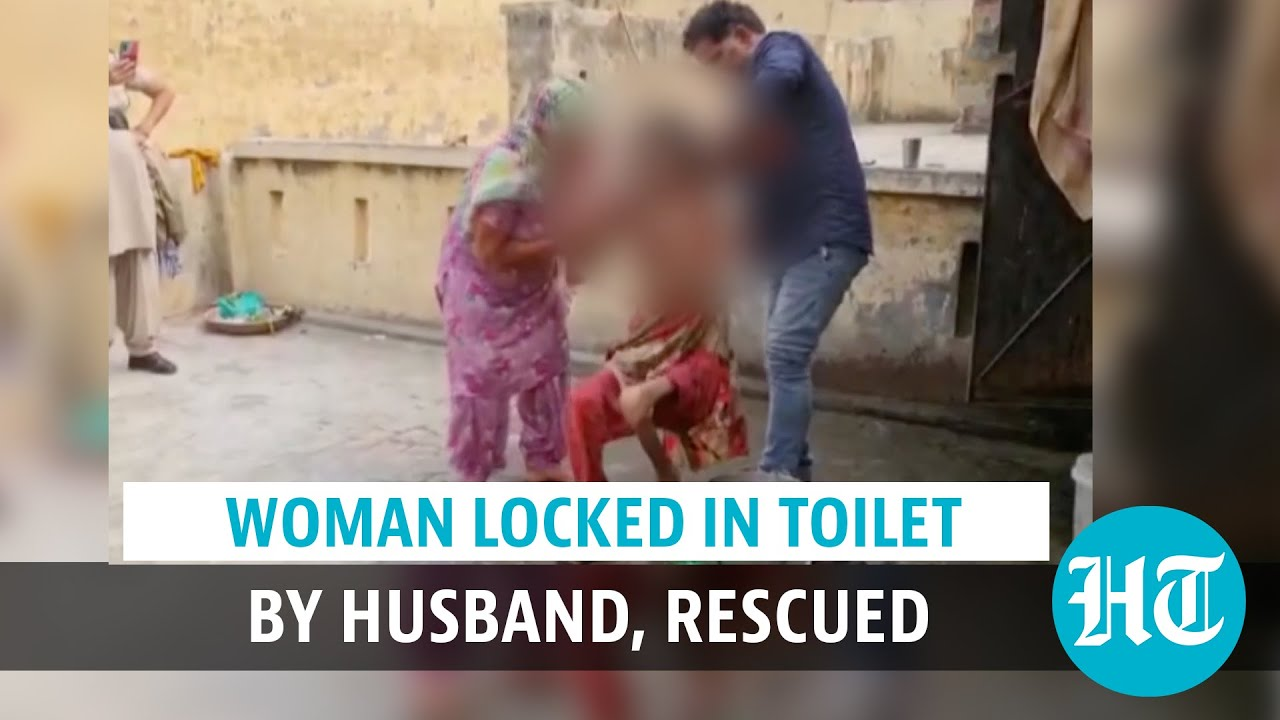 Haryana woman held captive by husband in toilet for over a year, rescued