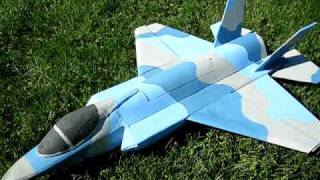 F-35 Scratchbuilt from Plans with Thrust Vectoring pt. 1:the walkaround