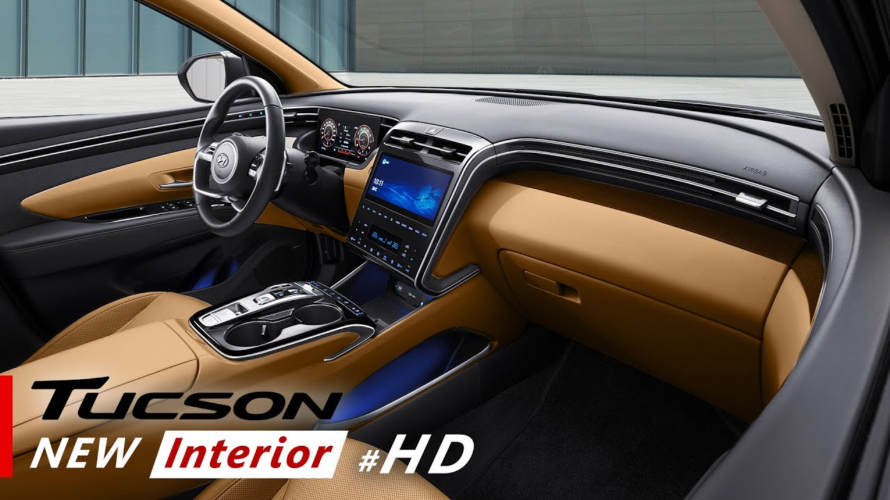2021 Hyundai Tucson Interior Colors and Cargo Space inside ...