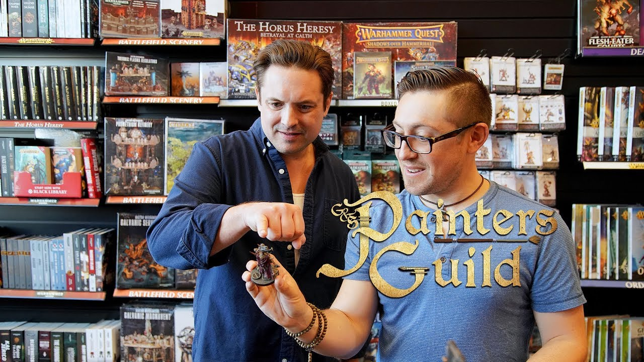 Will Friedle Visits Games Workshop (G&S Painters Guild)