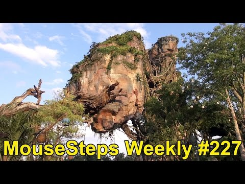 Mousesteps Weekly #227: Pandora The World of Avatar FULL Overview; DLP Pirates Event  w/Johnny Depp