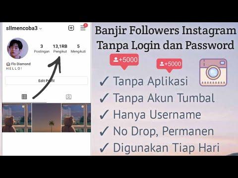 [berbayar] Cara Menambah Followers Instagram Dengan Cepat   Auto Jadi Selebgram‼️