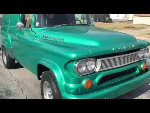 1961 Dodge D 100 Panel Truck For Sale - YouTube