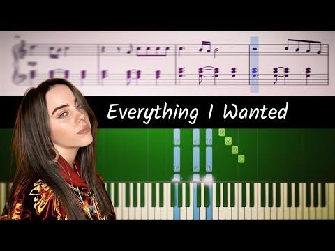 Billie Eilish - Everything I Wanted - Piano Tutorial + SHEETS