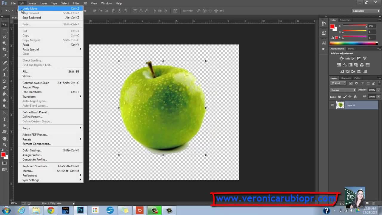 Como puedo borrar el fondo de una foto en photoshop 49
