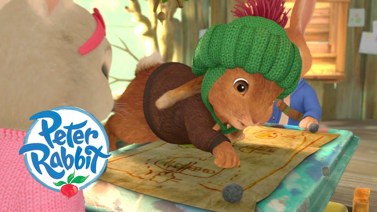 Peter Rabbit - The Strawberry Raid   Cartoons for Kids