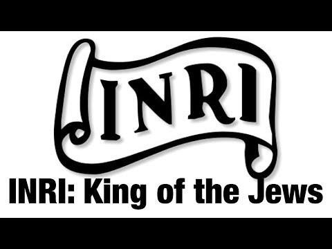 INRI: The King of the Jews