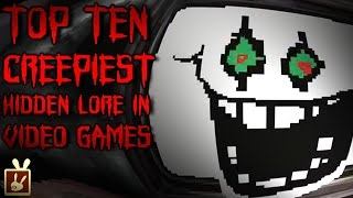 Top Ten Creepiest Hidden Lore in Video Games