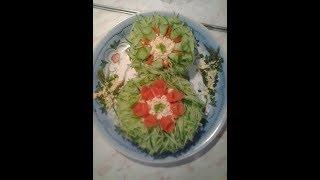 Салат на 8 Марта Восьмёрочка - вкуснейший и проверенный рецепт! Попробуйте - останетесь довольны!