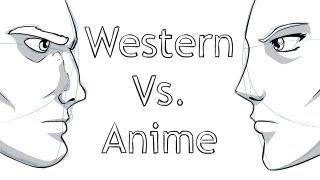 Drawing: Western Vs. Anime/Manga