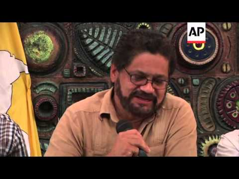 FARC and Cuban government end latest round of peace talks