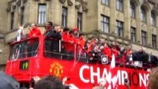 Man Utd Parade - One more year!!