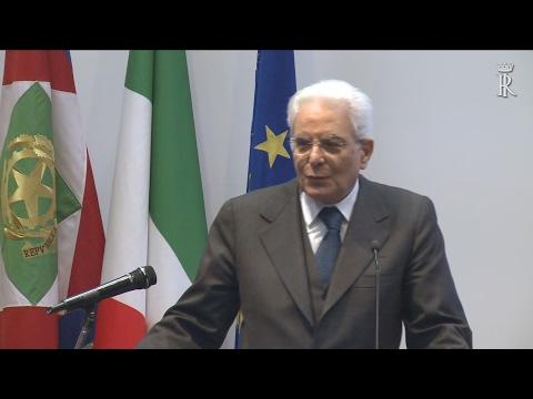 Mattarella all'inaugurazione dell'anno accademico 2016/2017 dell'Università di Calabria