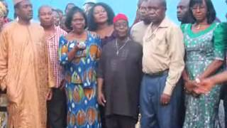 NGGTour: ANAMBRA STATE- Inspection of Ozubulu Water Supply Scheme / Bridge Projects