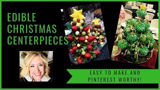 HOW TO MAKE AN EDIBLE CHRISTMAS TREE | EASY AND PINTEREST WORTHY