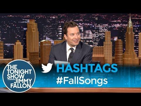 Hashtags: #FallSongs