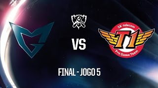 SSG x SKT (Final - Jogo 5) Mundial 2016