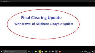 Gainbitcoin Final clearing update | Get your output in one GO!!!!!!