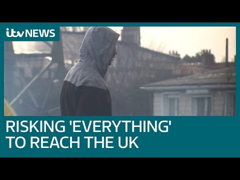 Iranian migrants 'willing to risk everything' to reach UK | ITV News