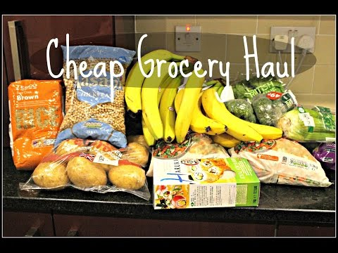 CHEAP VEGAN GROCERY HAUL (WITH PRICES) | Cheap Lazy Vegan