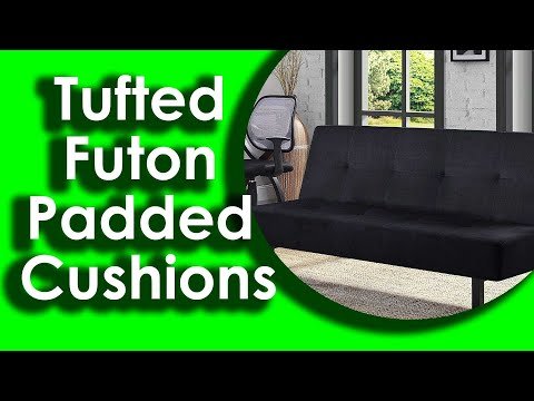 3 Position Tufted Futon Padded Cushions