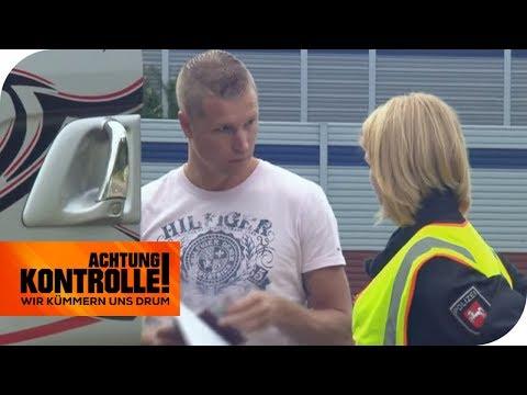 Krasser Verstoß gegen die Ruhezeiten! LKW-Fahrer droht hohe Strafe! | Achtung Kontrolle | kabel eins