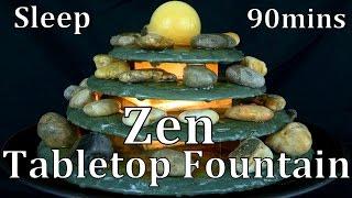 Repeat youtube video Zen Tabletop Water Fountain 90mins