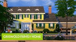 "The Sims 4 | REAL ESTATE: Griswold Family Home from ""Christmas Vacation"" (1989) - Simooligan"