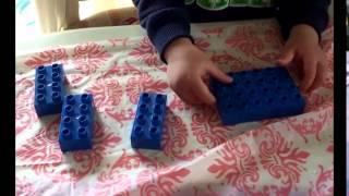 24か月 並べる・整頓するの取り組み 指先の技巧性 すくすく知育 幼児中...