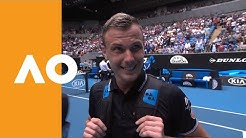 "Marton Fucsovics: ""I played my best tennis today""   Australian Open 2020 R1"