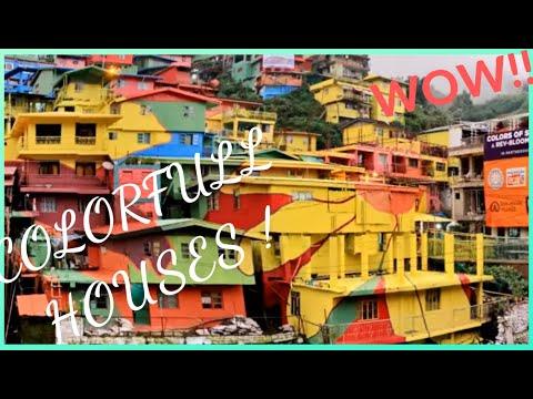 COLORFUL HOUSES | COLORS OF STOBOSA (LA TRINIDAD , BENGUET)