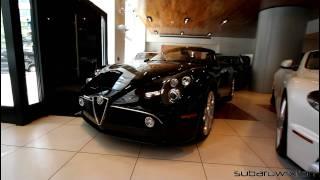 Alfa 8C Spider (2008) Car Pictures Videos