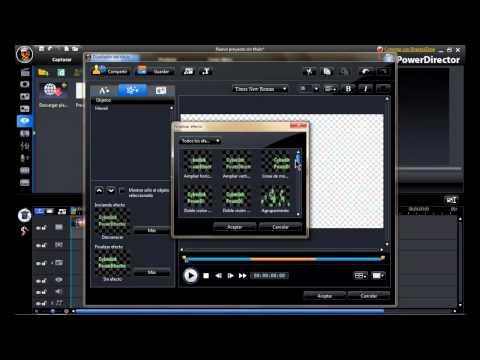 Como hace video con fotos y musica CyberLink PowerDirector