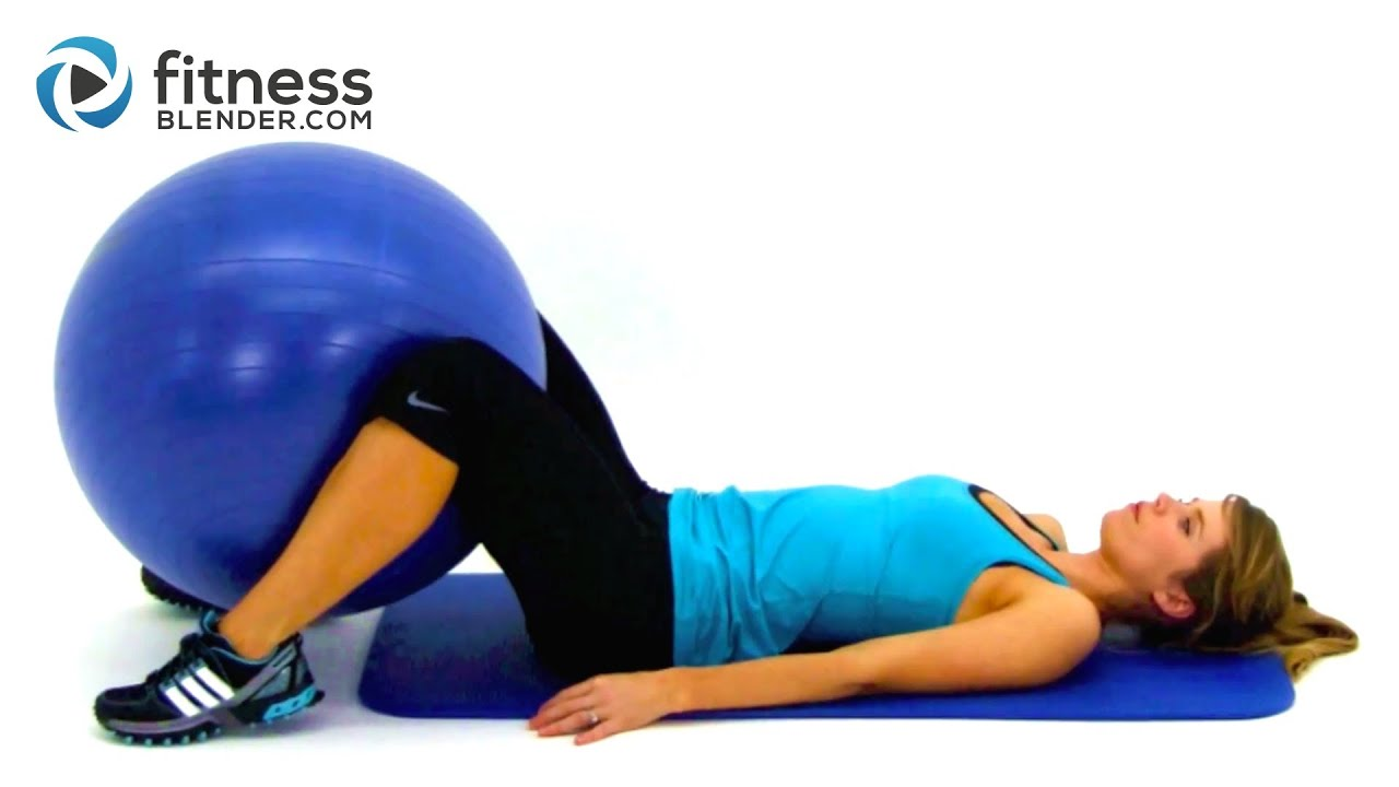 Total Body Exercise Ball Workout Video