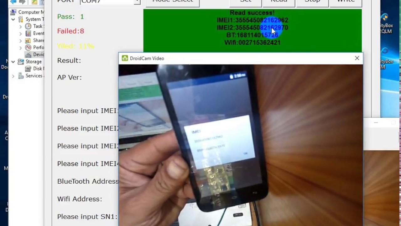 All Spd imei Repair-Free  Q mobile I2 demo-Easy