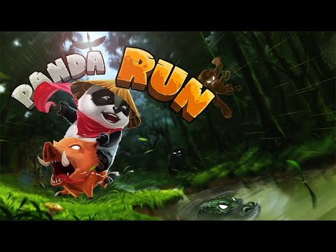 Panda Run Android GamePlay Trailer (HD) [Game For Kids]