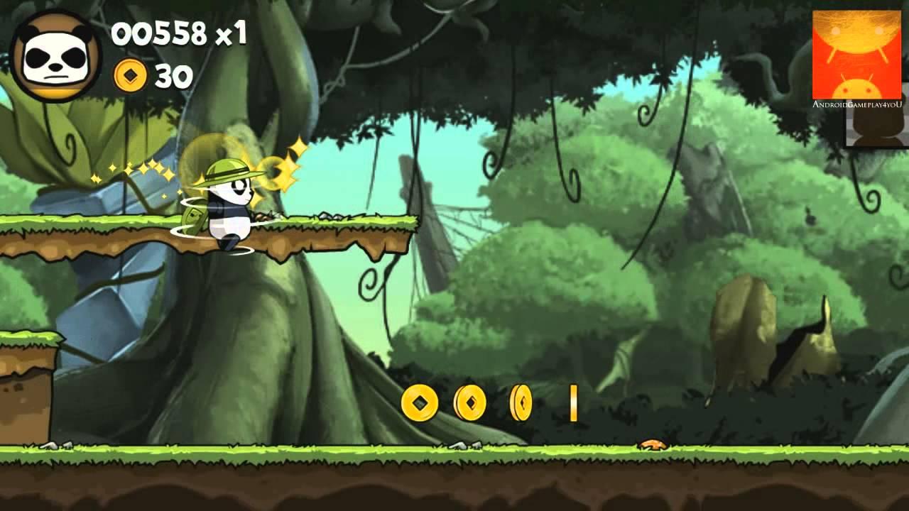 Panda Run Android GamePlay Trailer (HD) [Game For Kids]