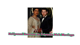 Bollywood Reaction on Priyanka's Wedding Feat Varun Suri