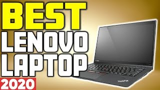 5 Best Lenovo Laptops in 2020