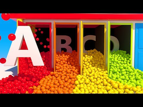 Thumbnail: Learn Alphabet with Doors and 3D Balls