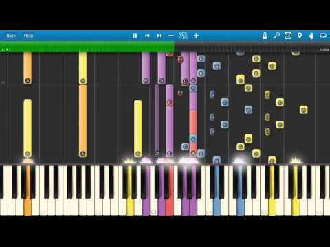 Styx - Babe - Piano Tutorial - Synthesia Cover