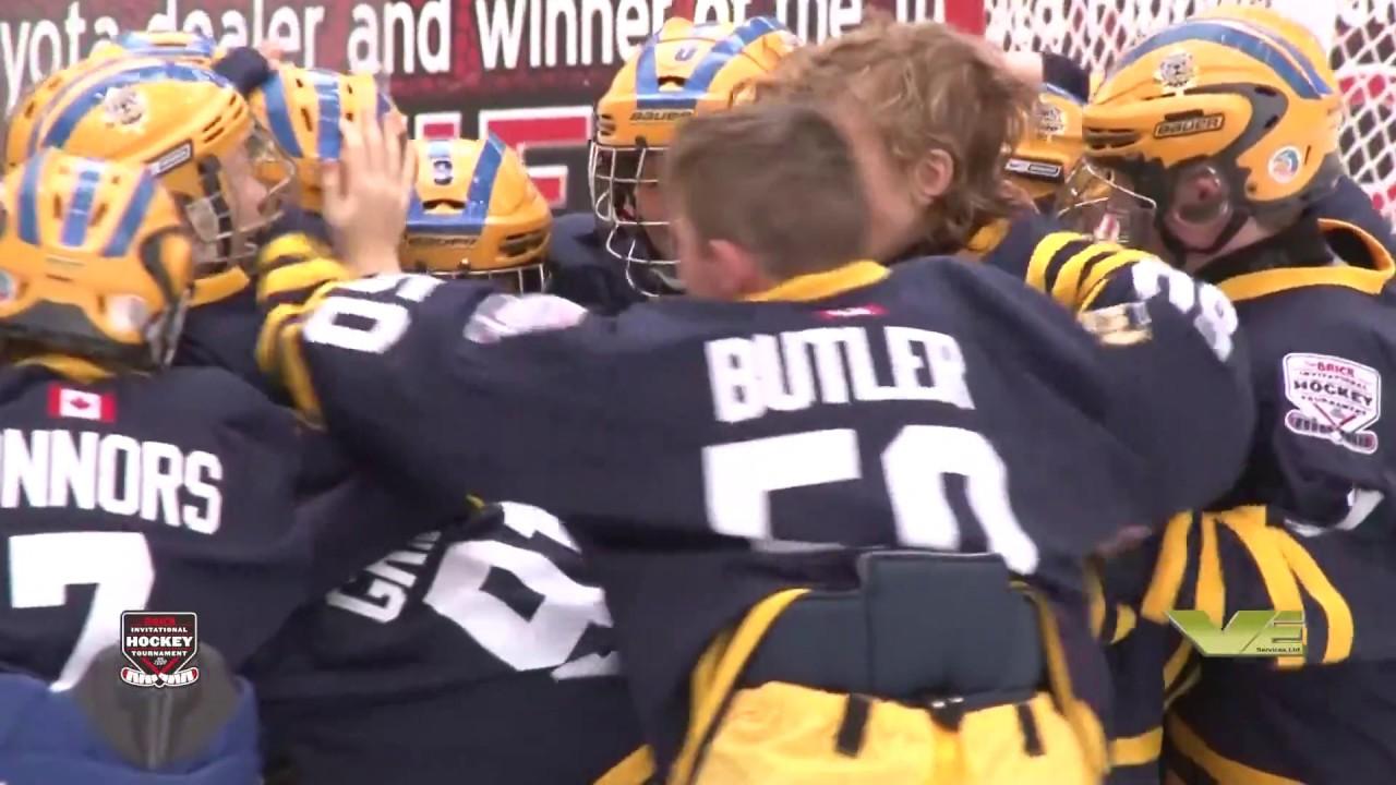 Game Winning Goals Day 6 7 2017 Brick Invitational Hockey