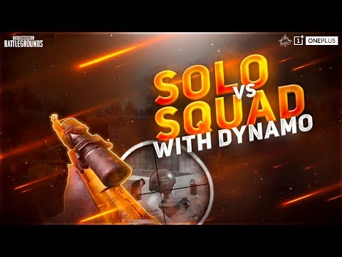 PUBG MOBILE LIVE SOLO VS SQUAD WITH DYNAMO | YOUTUBE GLITCHED STILL WE STREAMING