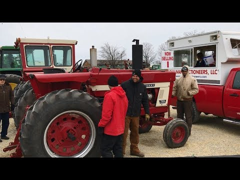 1974 IHC 766 Tractor with 7822 Hours Sold on Minnesota Auction