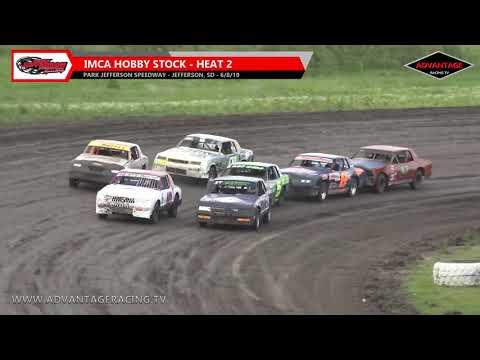 Hobby Stock Heats - Park Jefferson Speedway - 6/8/19